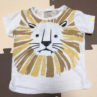 アカチャンホンポ(アカチャンホンポ)の90  らいおん 半袖 キッズ(Tシャツ/カットソー)
