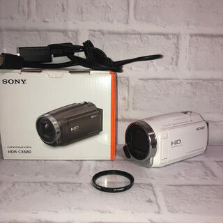 SONY - 【中古美品】HDR-CX680 レンズ保護プロテクター付