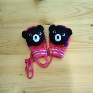 ダブルビー(DOUBLE.B)のダブルB 手袋 ミトン 女の子 ベビー ビーコ ミキハウス(手袋)