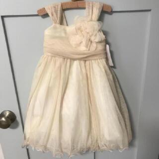 新品未使用 キッズ ドレス  シフォン 結婚式 (ドレス/フォーマル)