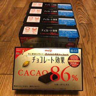 メイジ(明治)の激安!チョコレート効果 86%✖️5箱 激安(菓子/デザート)