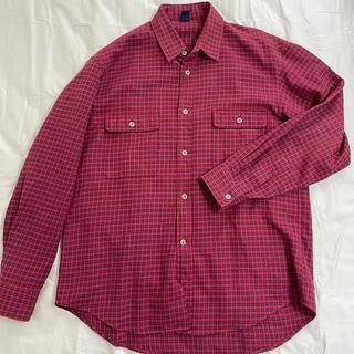 モンベル(mont bell)のmontbell 長袖チェックシャツ メンズL(シャツ)