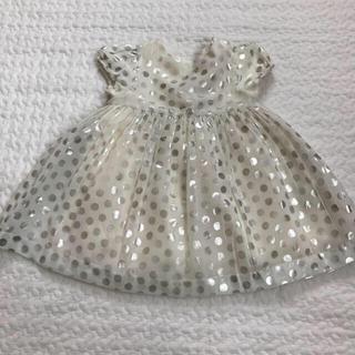 ベビーギャップ(babyGAP)のbaby GAP ドット ドレス ワンピース 結婚式(セレモニードレス/スーツ)