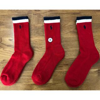 Ralph Lauren - 新品ポロラルフローレン レディース靴下 ソックス  3足セット312