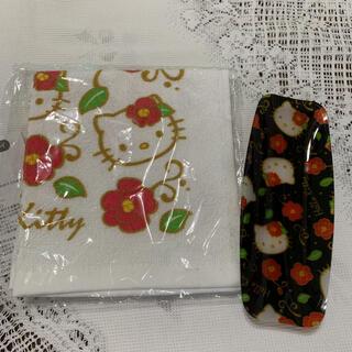 サンリオ(サンリオ)の新品:サンリオ ハローキティ☆おしぼりセット(その他)