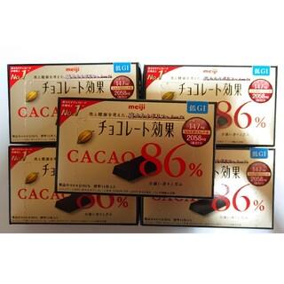 メイジ(明治)の明治 チョコレート効果 86% 70g×5箱(菓子/デザート)