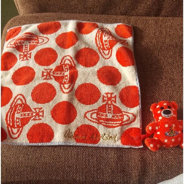 Vivienne Westwood(ヴィヴィアンウエストウッド)のヴィヴィアン タオルハンカチ レディースのファッション小物(ハンカチ)の商品写真