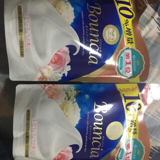 ギュウニュウセッケン(牛乳石鹸)のバウンシア エアリーブーケの香り♪史上最高の濃密泡クッション☆440ml×2個(ボディソープ/石鹸)