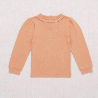 Misha and Puff Frankie Sweater Peach Dus