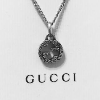 Gucci - GUCCI ネックレス 燻 現行人気モデル 正規品