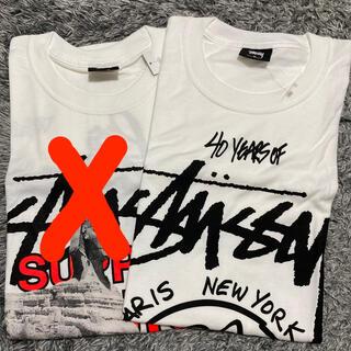 ステューシー(STUSSY)のStussy40周年記念Tシャツ  ラスト1点のみ(Tシャツ/カットソー(半袖/袖なし))