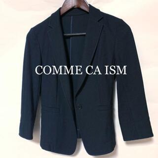 コムサイズム(COMME CA ISM)のコムサ イズム ネイビー テーラード ジャケット サマージャケット(テーラードジャケット)