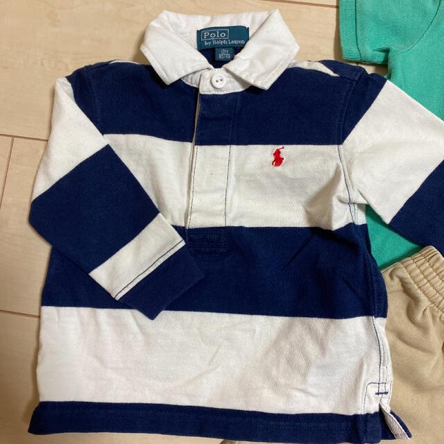Ralph Lauren(ラルフローレン)の80cmまとめ売り ラルフローレンセット キッズ/ベビー/マタニティのベビー服(~85cm)(シャツ/カットソー)の商品写真