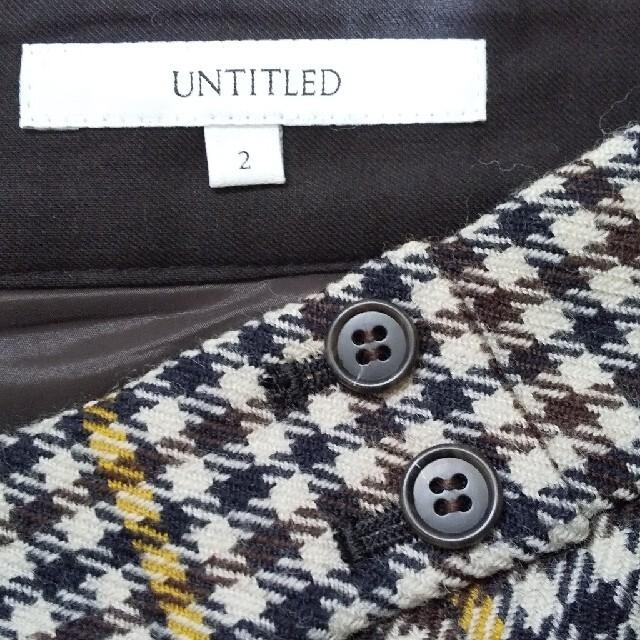 UNTITLED(アンタイトル)のUNTITLEDスカート美品 レディースのスカート(ロングスカート)の商品写真