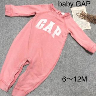 babyGAP - baby GAP トーレーナ地ロンパース