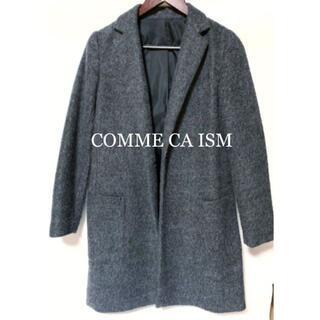 コムサイズム(COMME CA ISM)の【新品未使用】コムサ イズム コート ダークグレー(ロングコート)
