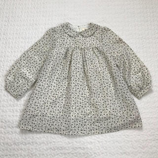 丸高衣料 レトロ 丸襟 フォーマル ワンピース(ワンピース)