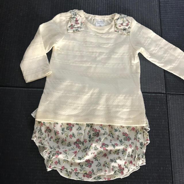 futafuta(フタフタ)のロンTパンツ上下セット キッズ/ベビー/マタニティのベビー服(~85cm)(シャツ/カットソー)の商品写真