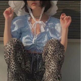 バブルス(Bubbles)のRum シャーリングブラウス(シャツ/ブラウス(半袖/袖なし))