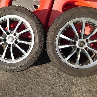 スタッドレスタイヤ+16インチホイールセット 205/55R16 4本