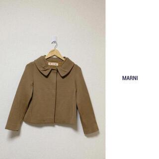 マルニ(Marni)のMARNI マルニ ショート ジャケット コート リボン (テーラードジャケット)