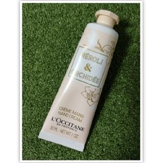 ロクシタン(L'OCCITANE)の【新品未使用】ロクシタン ネロリ&オーキデ ハンドクリーム30ml(ハンドクリーム)