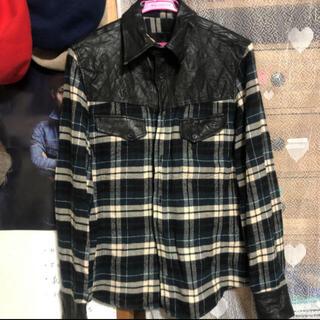 イサムカタヤマバックラッシュ(ISAMUKATAYAMA BACKLASH)のTAKUYA∞ 着用 BACKLASH チェックシャツ(シャツ)