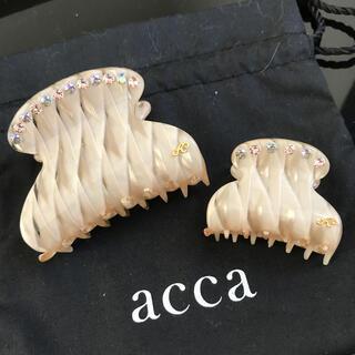 acca - acca ビコローレ クリップセット アッカ 最終価格