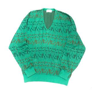 トーガ(TOGA)の80-90's VINTAGE Emerald-Green Knit(ニット/セーター)