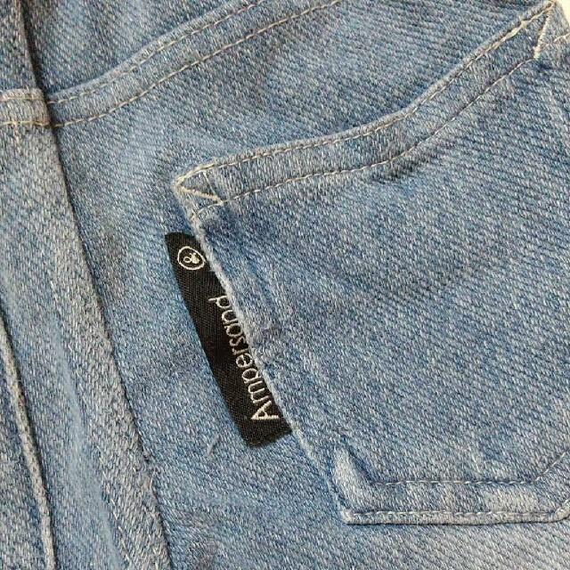 ampersand(アンパサンド)のデニム 80 キッズ/ベビー/マタニティのベビー服(~85cm)(パンツ)の商品写真