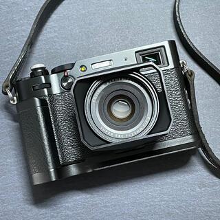 富士フイルム - 富士フイルム X100V ブラック【保証あり・おまけ多数】
