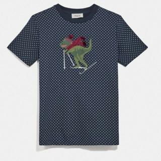 コーチ(COACH)のCOACHレキシー ドット TシャツサイズXS (Tシャツ(半袖/袖なし))