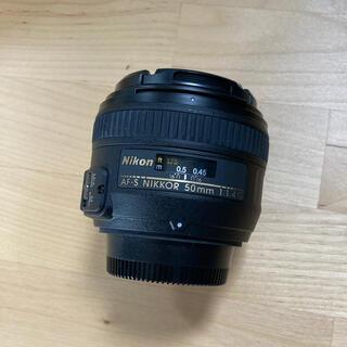 Nikon - 美品 ニコン Nikon  レンズ 50mm F1.4 単焦点レンズ