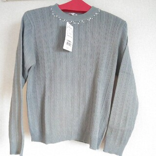 HONEYS - ビジュー付き ニット セーター
