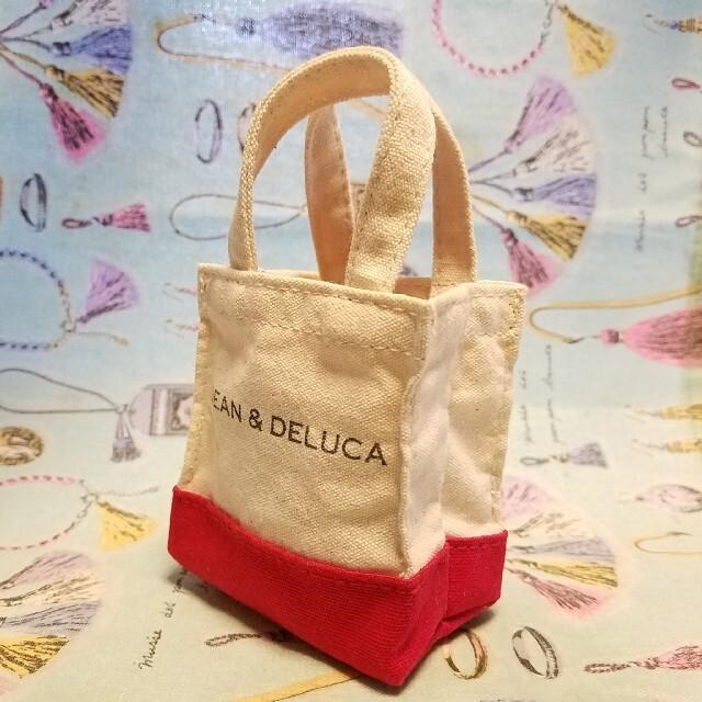 DEAN & DELUCA(ディーンアンドデルーカ)のDEAN & DELUCA ミニトートバック インテリア/住まい/日用品の日用品/生活雑貨/旅行(日用品/生活雑貨)の商品写真