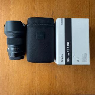SIGMA - SIGMA 50mm F1.4 DG Art Canon EFマウント