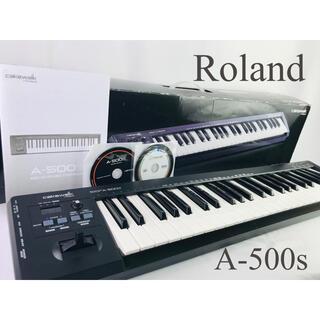 ローランド(Roland)のローランド A-500S MIDI USBキーボード コントローラー  daw(MIDIコントローラー)