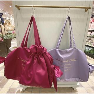 メゾンドフルール(Maison de FLEUR)の人気完売品ボストントラベルキャリーオンLバッグ(スーツケース/キャリーバッグ)