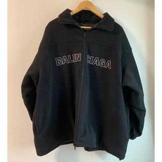 Balenciaga - 【BALENCIAGA】20AW ジップアップロゴ ナイロントラックジャケット