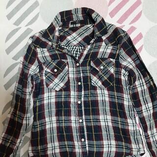 アズールバイマウジー(AZUL by moussy)のコットンシャツ(シャツ/ブラウス(長袖/七分))
