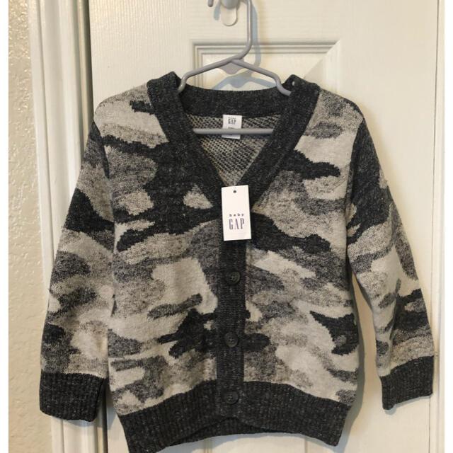 babyGAP(ベビーギャップ)のGap ギャップ ニットカーディガン サイズ3T キッズ/ベビー/マタニティのベビー服(~85cm)(ニット/セーター)の商品写真