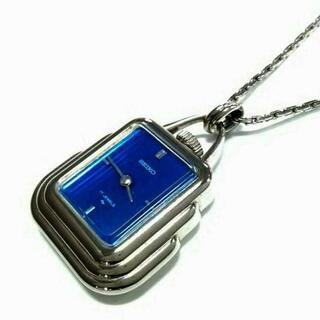 セイコー(SEIKO)のセイコー ネックレス 金属素材×ガラス(ネックレス)