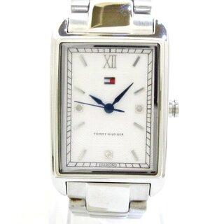 トミーヒルフィガー(TOMMY HILFIGER)のトミーヒルフィガー 腕時計美品  F80252 白(腕時計)
