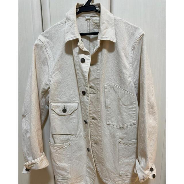JOURNAL STANDARD(ジャーナルスタンダード)のジャーナルスタンダード カバーオール 生成り S  オアスロウ好きに メンズのジャケット/アウター(カバーオール)の商品写真