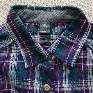 mont bell - mont-bell モンベル チェックシャツ レディースL