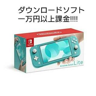 Nintendo Switch - Nintendo switch ダウンロード一万円以上課金! Lite 任天堂