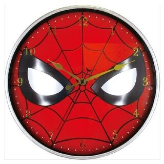 マーベル(MARVEL)のマーベル スパイダーマン  掛け時計 新品(掛時計/柱時計)