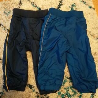 ユニクロ(UNIQLO)のユニクロ 裏フリース防寒パンツ2枚セット 80(パンツ)