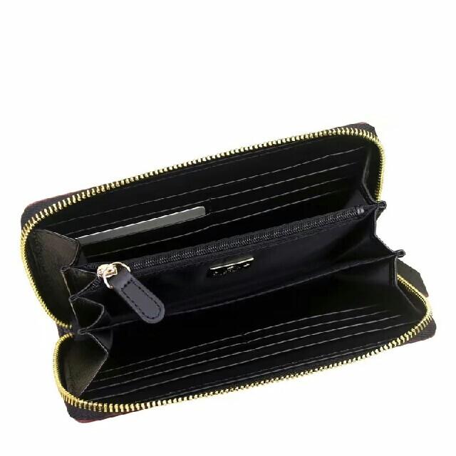 Vivienne Westwood(ヴィヴィアンウエストウッド)のヴィヴィアンウエストウッド 長財布 ブラック 55338 人気 レディースのファッション小物(財布)の商品写真