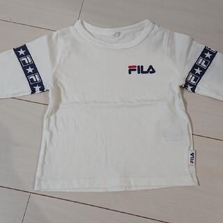 FILA - FILA 白ロンT キッズ